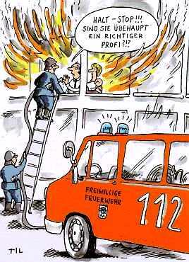 Feuerwehrmann Witze kurz
